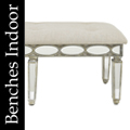Benches Tufted Indoor